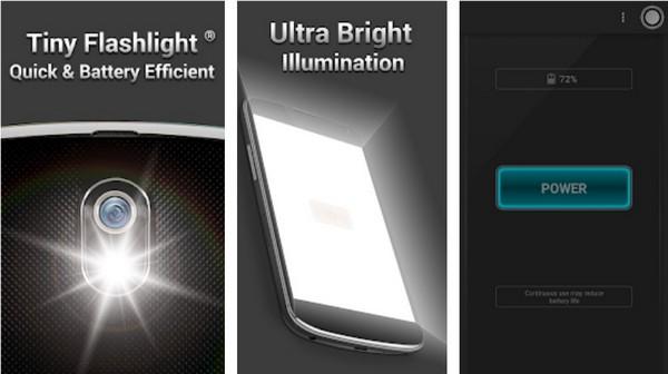 Tiny Flashlight LED