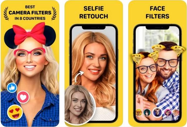 Banuba Funny Face Swap Filter