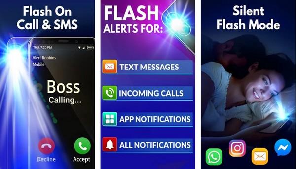 Flash Alerts LED Call SMS