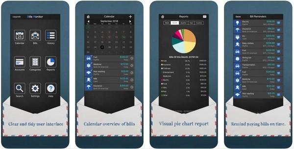 Bills MonitorBills Manager and Tracker