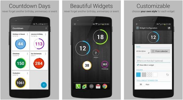 Countdown Widget by Gira Mobile