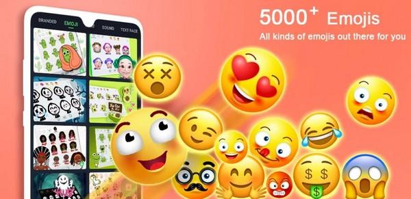Emoji Keyboard Cute Emoticons GIF Stickers