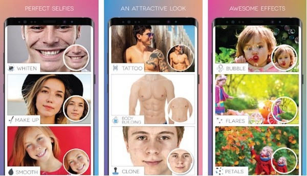 Fotogenic face slimming app