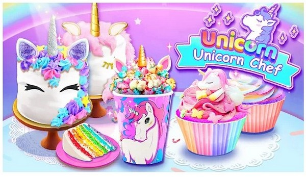 Girl Games Unicorn Cooking Games for Girls Kids