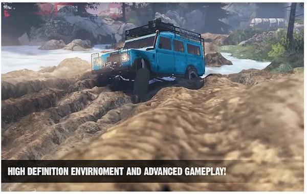 Offroad Cruiser Tough Driving 4x4 Simulation Game