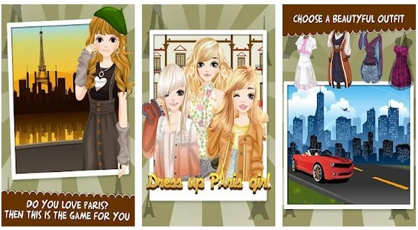 Paris Girls Girl Games