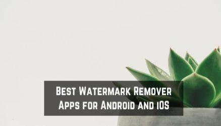 Best Watermark Remover Apps