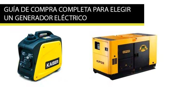 guia compra generador electrico como elegir un generador electrico