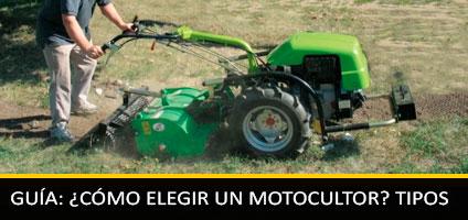 Cómo Elegir el Motocultor Según su Uso: Tipos y Características para comprar
