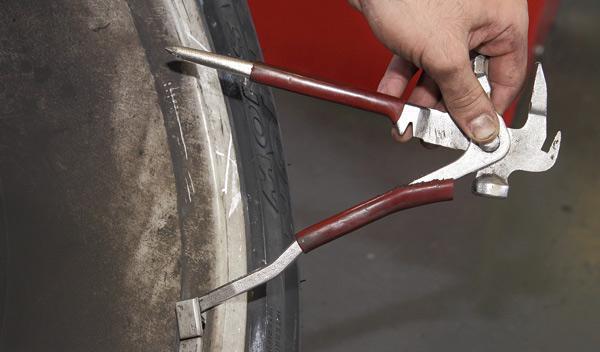 manual para desmontar neumáticos