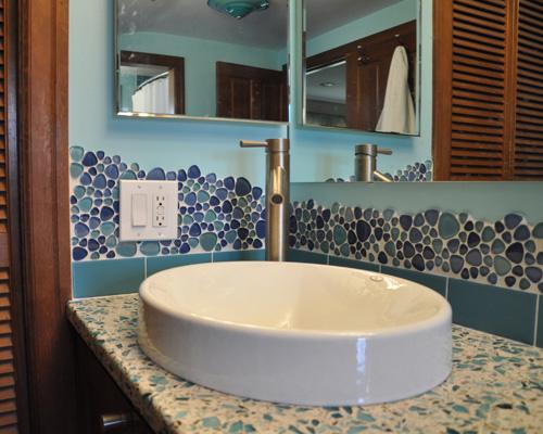 Custom Tile Bath Remodel Ventana Construction Seattle Washington