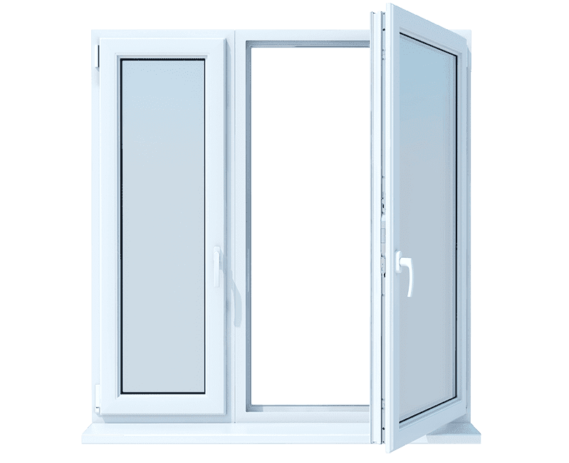 ventana aluminio abatible