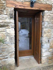 Colocación puerta Olleta