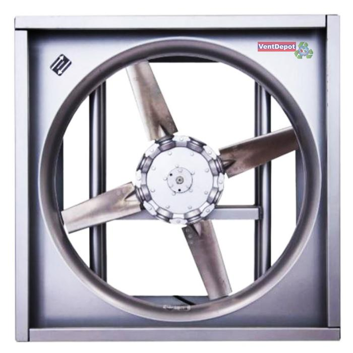 direct drive reversible exhaust fan