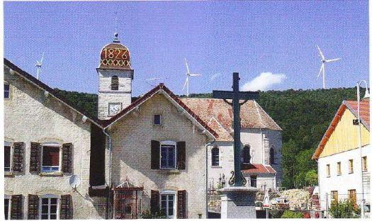 Parc éolien de Lomont (Doubs)