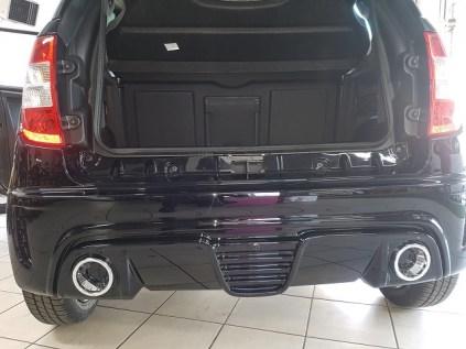 voiture sans permis JS50L sport d'occasion vue coffre