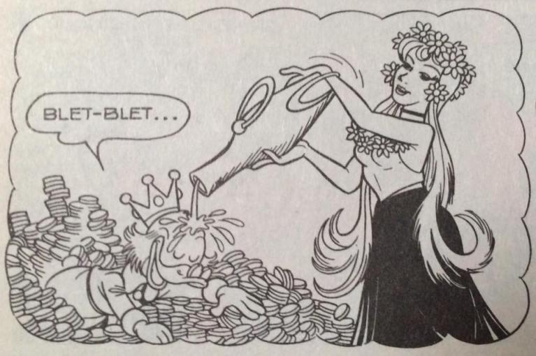 blet blet è una delle onomatopee disney