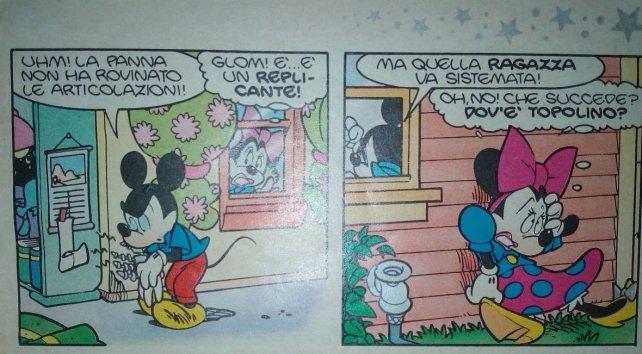 Minni in: Ciao, Dorina! Topolino replicante