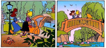 Topolino villa dei misteri vignette iniziali