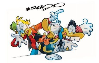 Cover Disney d'autore Mastantuono