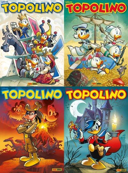 Copertina Topolino vari