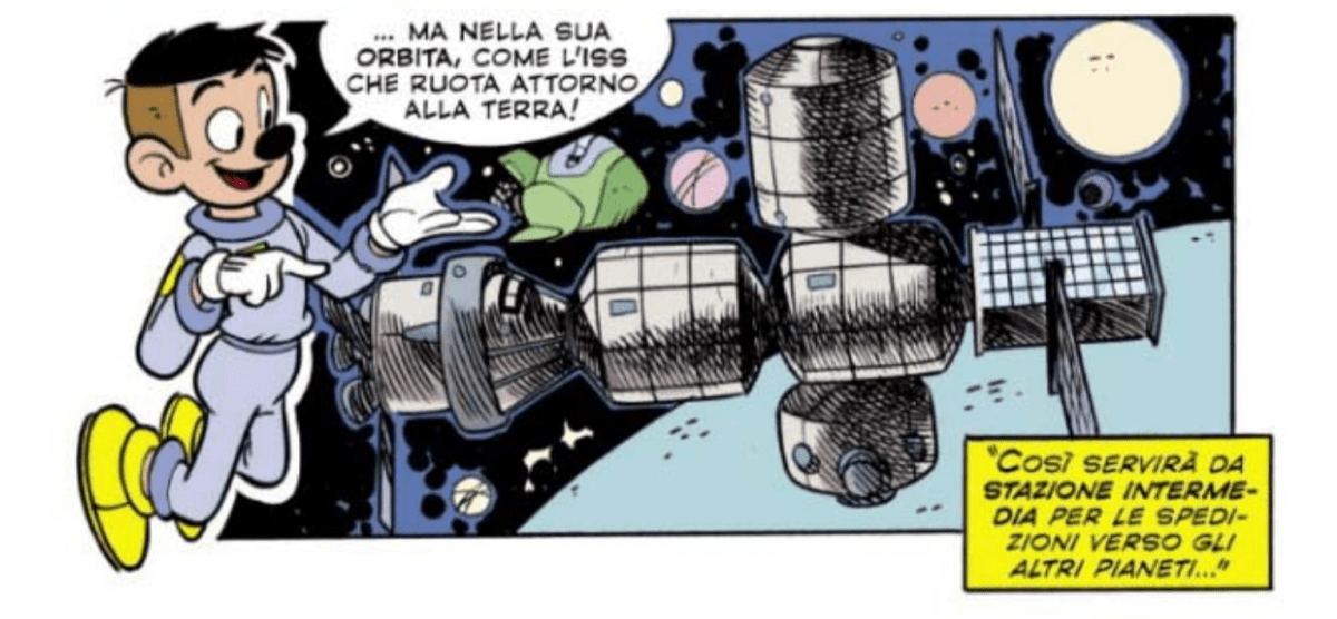 iss topolino paperone