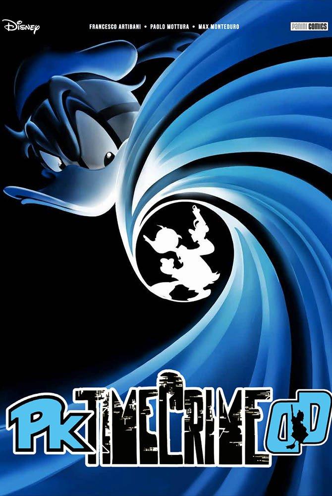 Copertina di una edizione variant di Pk-Timecrime