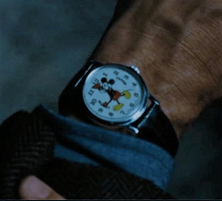 Cammeo Topolino orologio