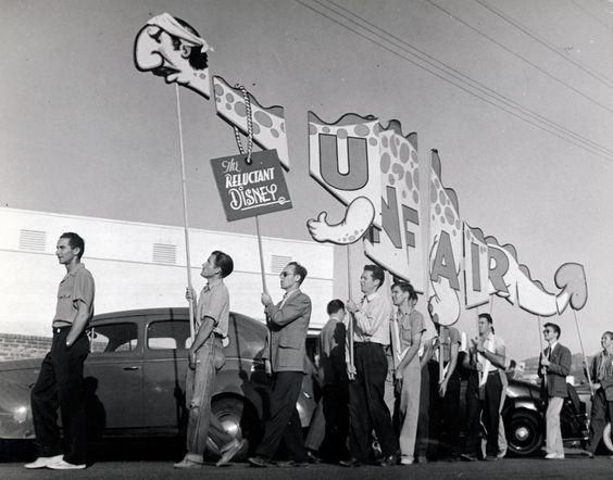 sciopero disney