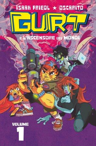 Copertina del volume 1 di Gurt, edito da Panini Comics