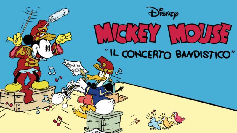 il-concerto-bandistico-copertina perché Paperino parla male