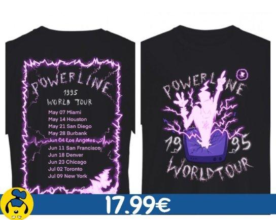 Maglietta Powerline