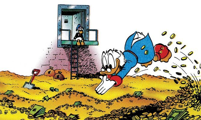 monete paperone deposito