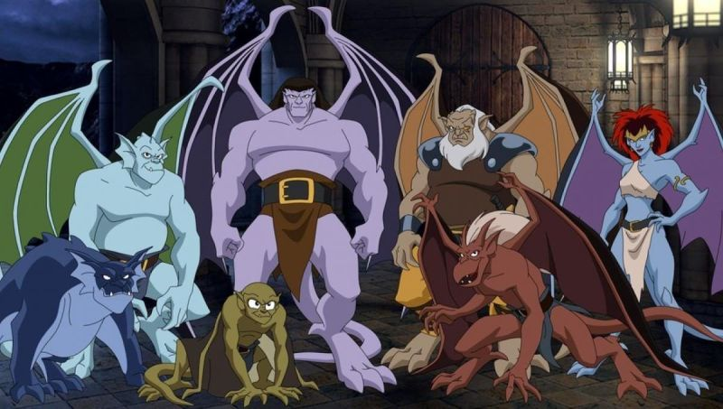 I Personaggi di Gargoyles