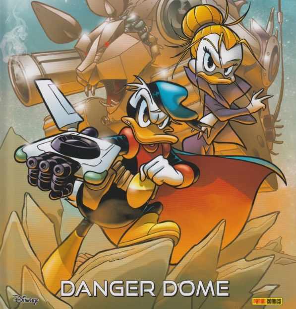 copertina PK Danger Dome di Roberto Gagnor