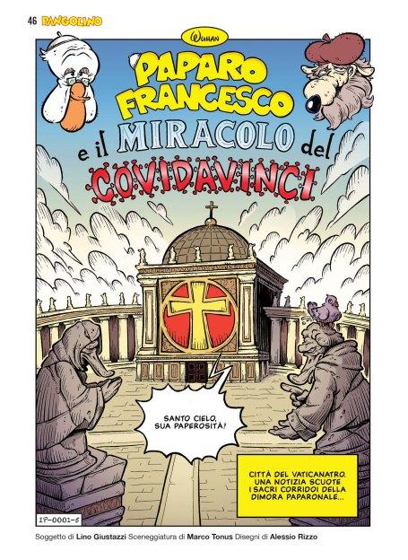 Paparo Francesco e il miracolo del Covidavinci