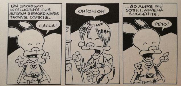 Rat-Man umorismo cacca