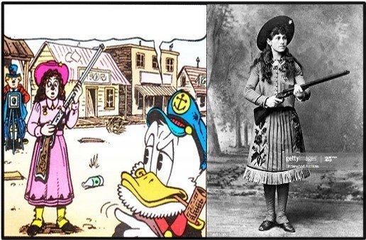 Annie Oakley Saga Paperone