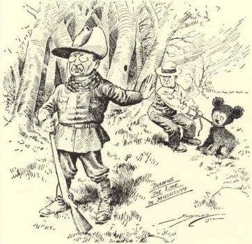 roosvelt Teddy bear