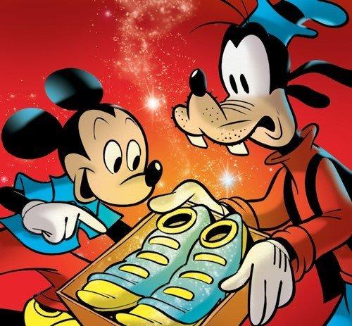 topolino e pippo in una copertina di faccini