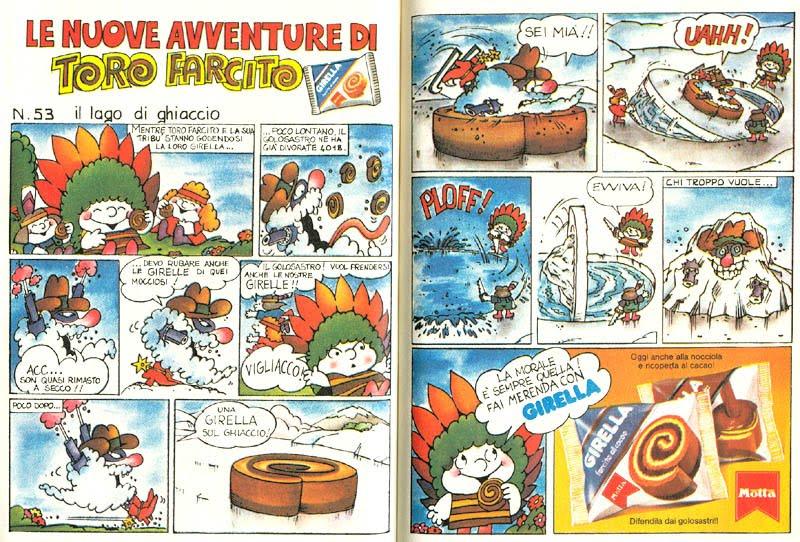 Fumetti di Gardaland vs. Fumetti di Girella