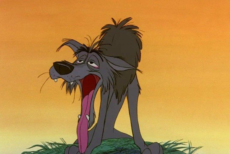 Comparse Disney lupo copertina