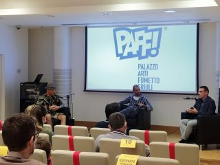 Di nuovo al PAFF! per l'incontro tra Pastrovicchio e Artibani: il reportage