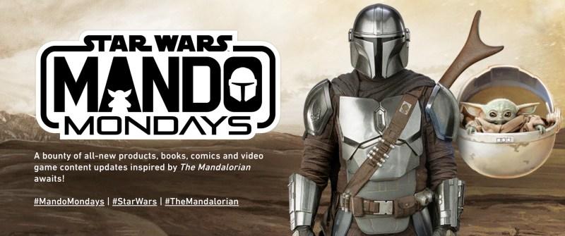 L'immagine ufficiale per i Mando Mondays su starwars.com