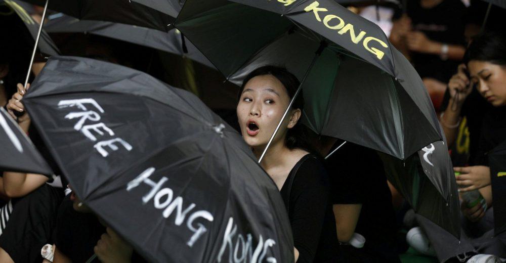 proteste contro la legge sull'estradizione a Hong Kong