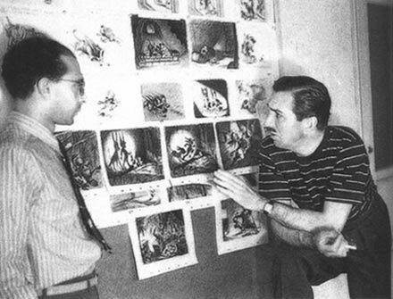 Walt Disney e Bob Thomas