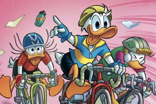Quando Paperino partecipò al Giro d'Italia