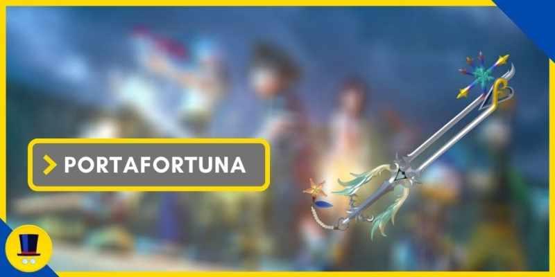 portafortuna keyblade kingdom hearts