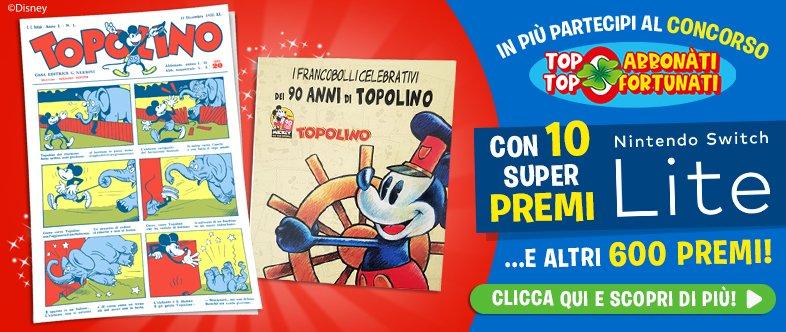 Topolino-Ristampa-Francobolli-Abbonamenti
