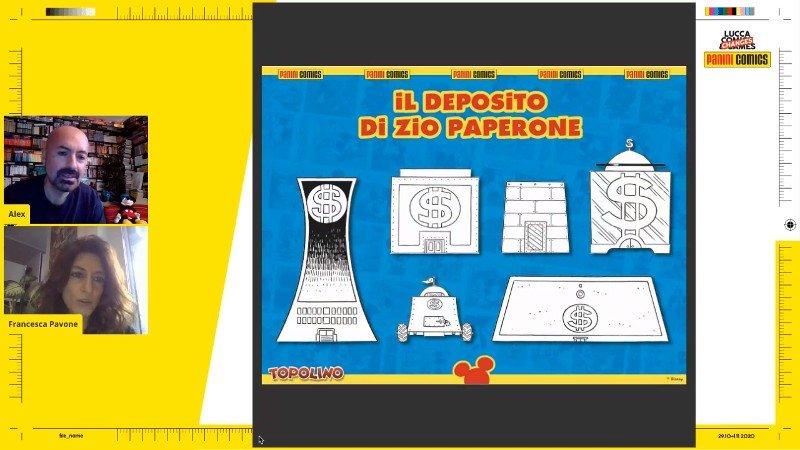 Deposito Zio Paperone concept